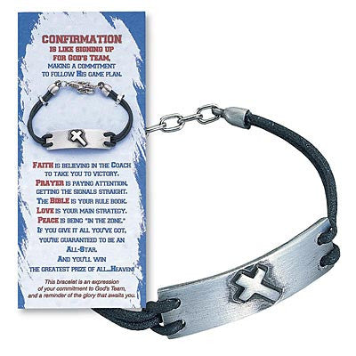 Confirmation Bracelet and Card 09165