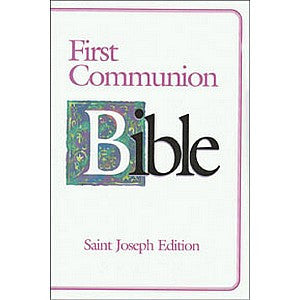 First Communion Bible Girl Edition