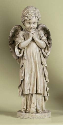 Praying Angel Child Statue