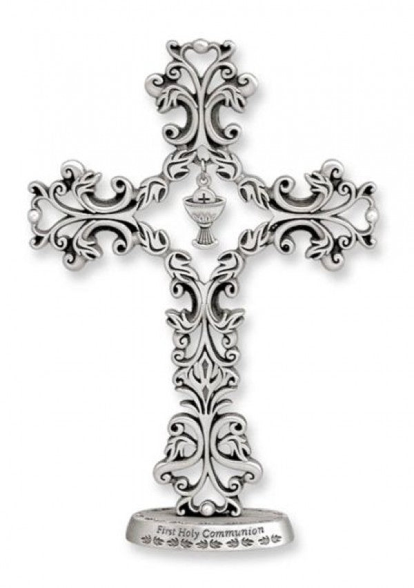 FILIGREE STANDING COMMUNION CROSS