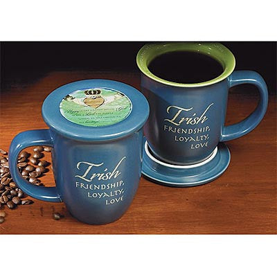 Irish Mug and Coaster Set