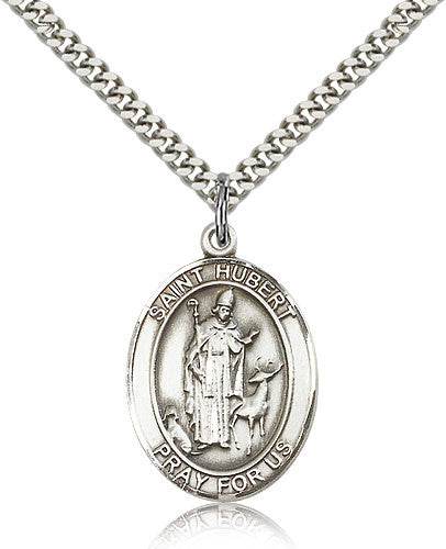 St. Hubert Of Liege Medal