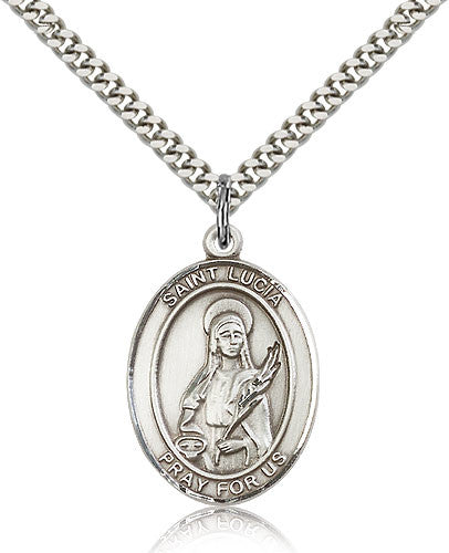 St. Lucia Of Syracuse Medal