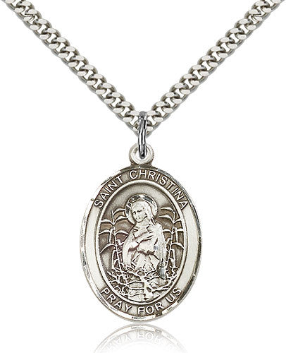 St. Christina the Astonishing Medal