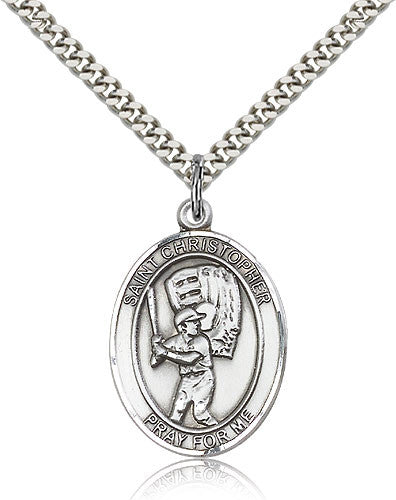 "St. Christopher ""Baseball"" Medal"