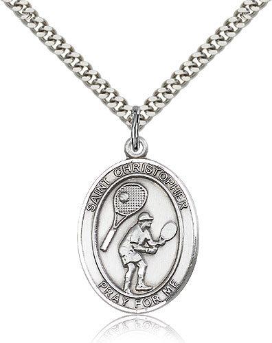 "St. Christopher ""Tennis"" Medal"