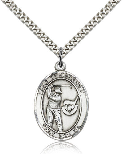 "St. Christopher ""Golf"" Medal"