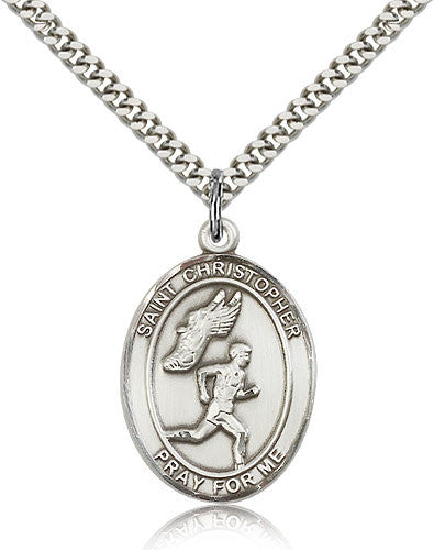 "St. Christopher ""Men's Track"" Medal"