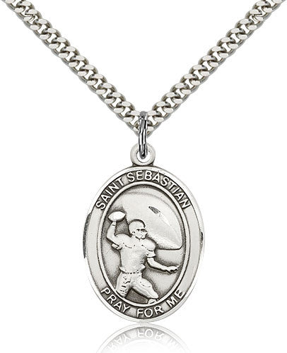"St. Sebastian ""Football"" Medal"