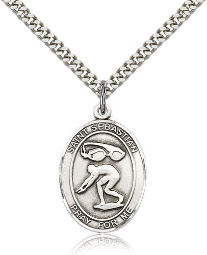 "St. Sebastian ""Swimming"" Medal"