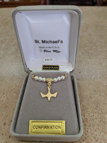 Pearl Holy Spirit Necklace