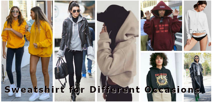 When to Wear Sweatshirt or Sweatshirt for Different Occasions