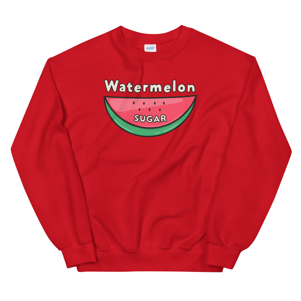 Watermelon Sugar Sweatshirt - Red Watermelon Sugar Sweatshirt for Women $29.00