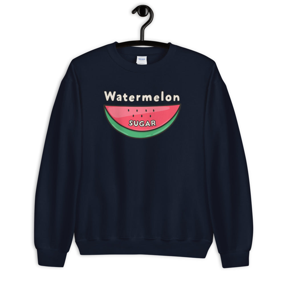 Watermelon Sugar Sweatshirt - Navy Watermelon Sugar Sweatshirt for Women $29.00