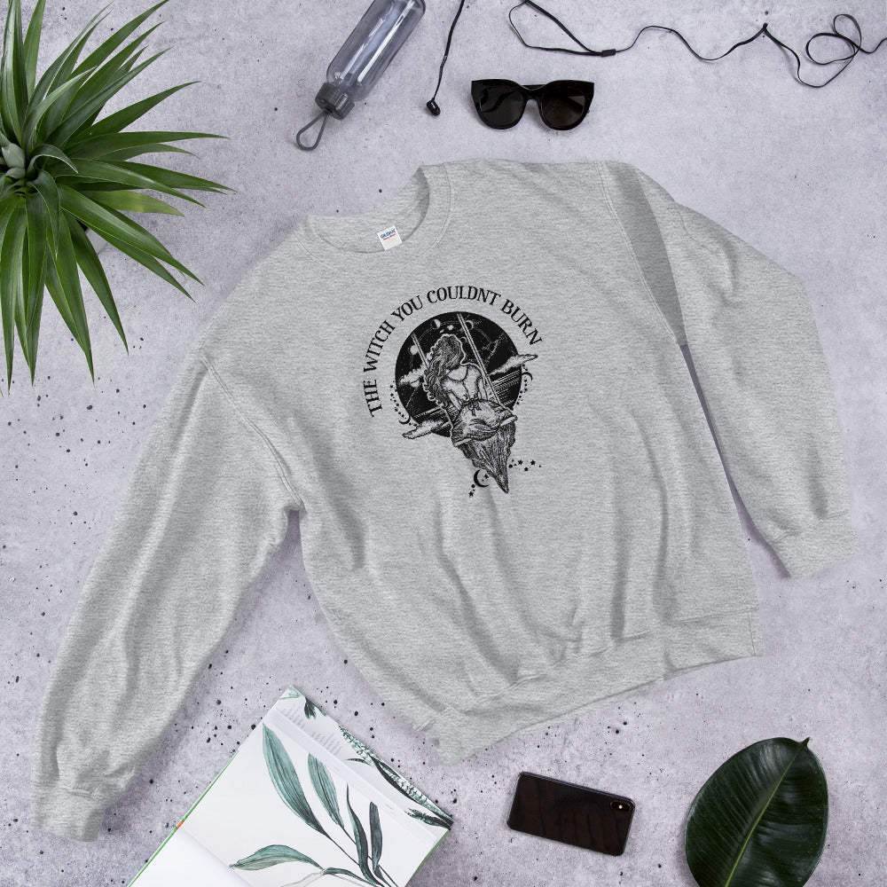 The Witch You Couldn't Burn Crewneck Sweatshirt for Women