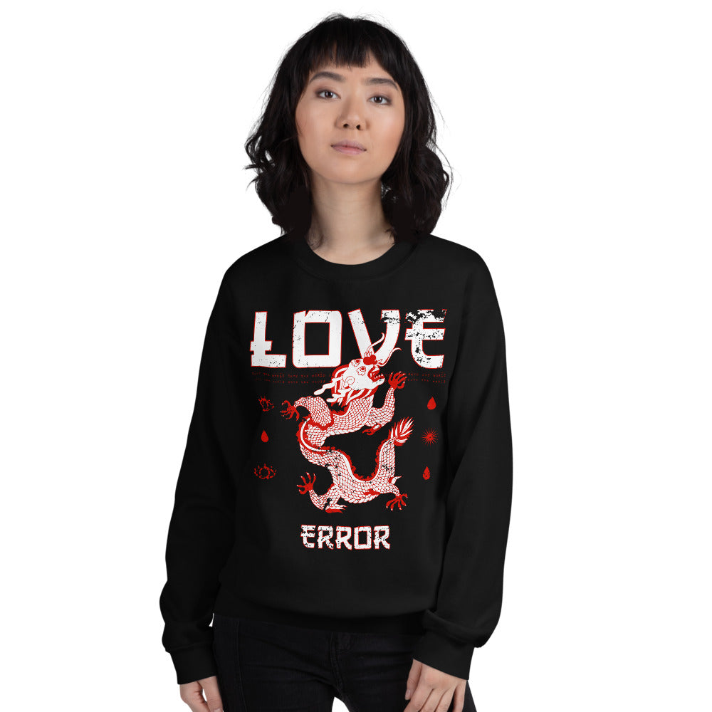 Love Error Mythical Snake Bite Crewneck Sweatshirt