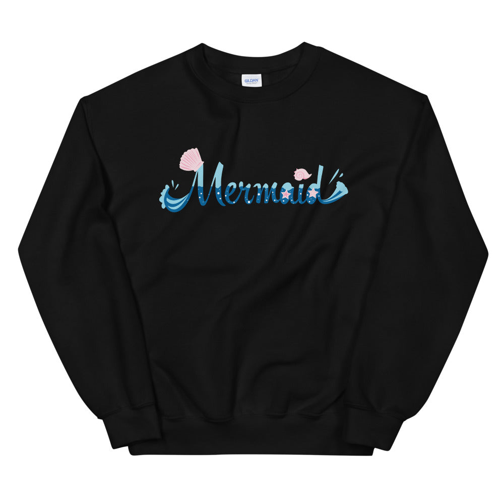 Mermaid Crewneck Sweatshirt for Women