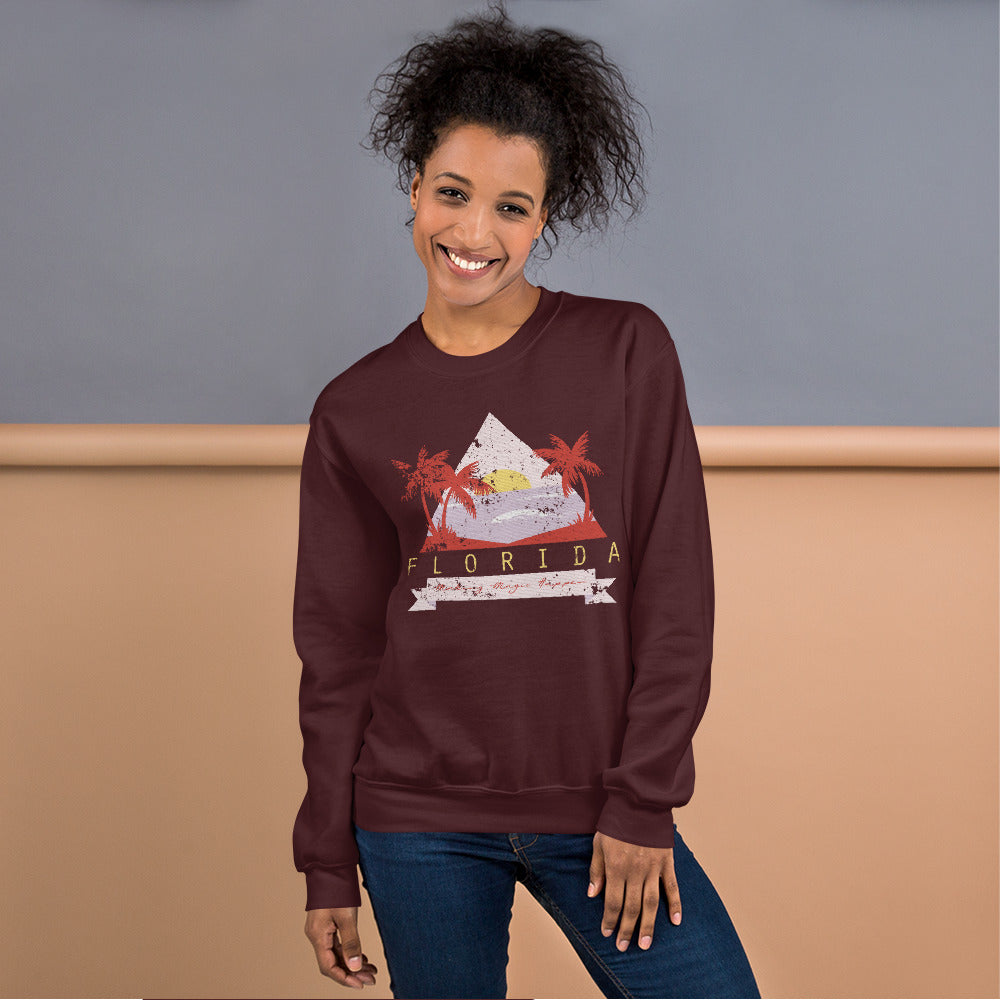Florida Make Magic Happen Crewneck Sweatshirt for Women
