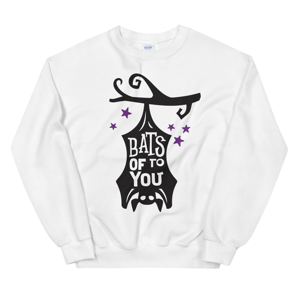 Bats of To You Halloween Crewneck Sweatshirt for Women