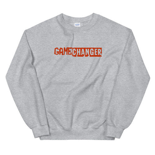 Game Changer Sweatshirt | Grey Crewneck Game Changer Sweatshirt for Women