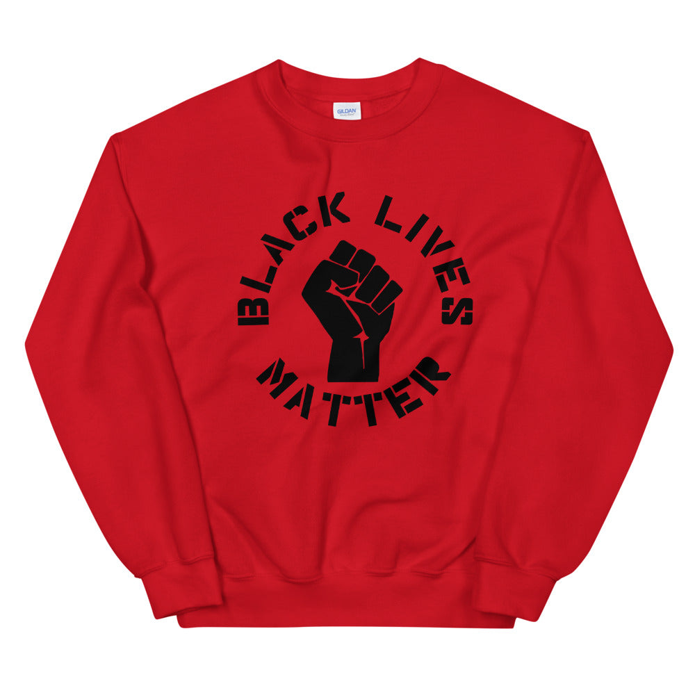 Black Lives Matter Crewneck Sweatshirt for Women