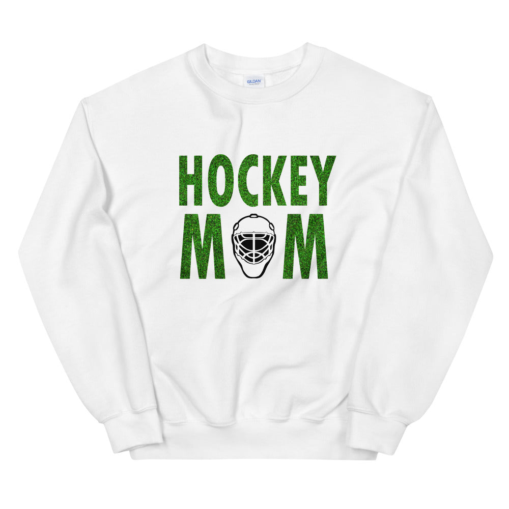 Hockey Mom Meme Crewneck Sweatshirt for Mother