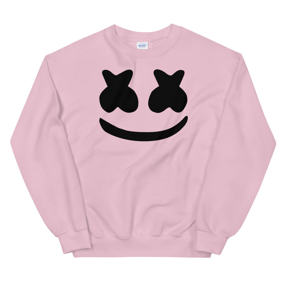 Dj Marshmello Sweatshirt - Pink Marshmello Sweatshirt for Women
