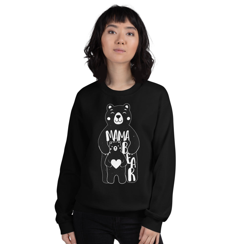 Mama Bear and Cub Sweatshirt for Beautiful Mommies