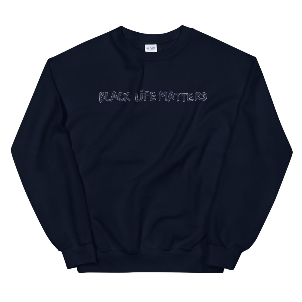 Black Life Matter Crewneck Sweatshirt for Women