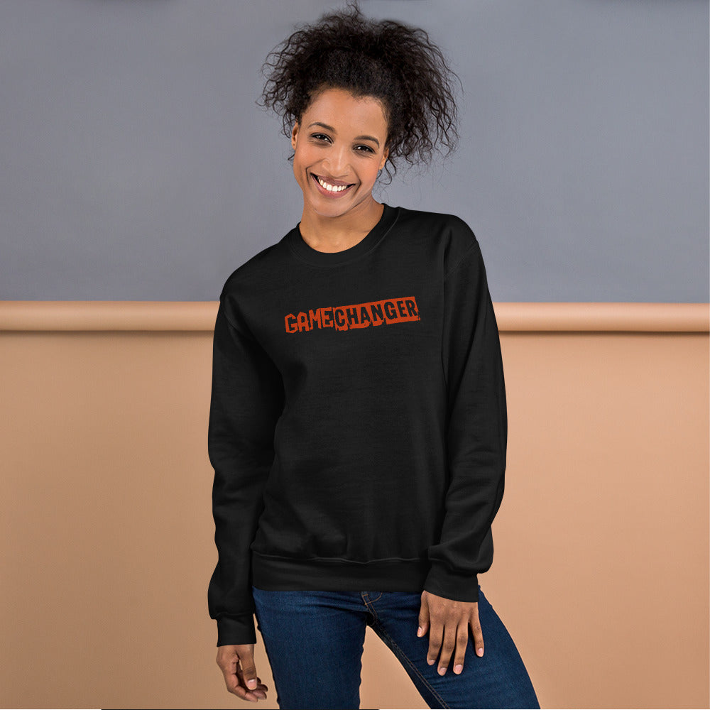 Game Changer Sweatshirt | Black Crewneck Game Changer Sweatshirt for Women