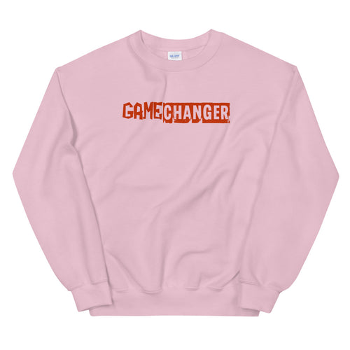 Game Changer Sweatshirt | Pink Crewneck Game Changer Sweatshirt for Women