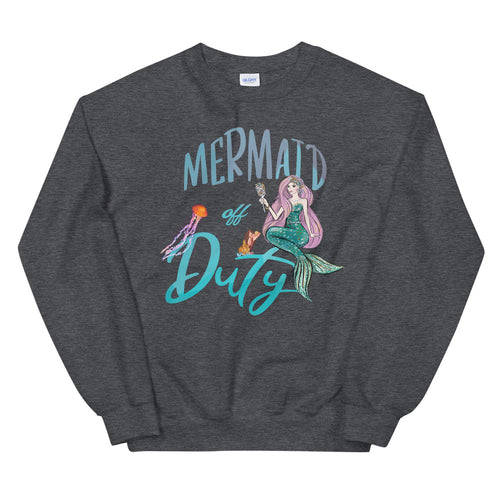 Mermaid Off Duty Crewneck Sweatshirt for Women