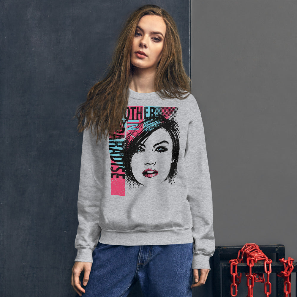 Another Day in Paradise Crewneck Sweatshirt for Women
