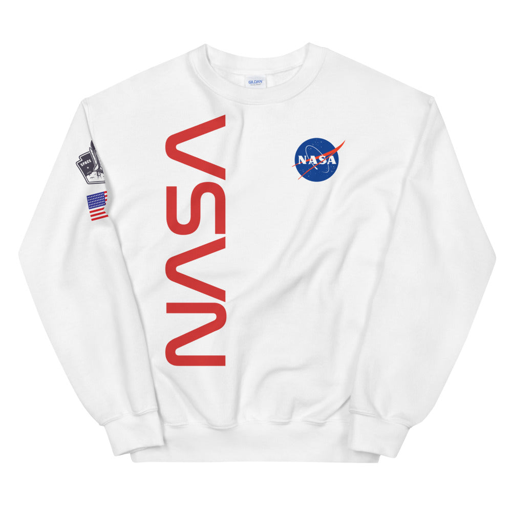Nasa Space Flight Crewneck Sweatshirt for Women