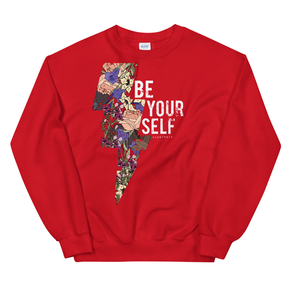 Be Yourself Sweatshirt | Empowering Quotes Sweatshirt for Girls