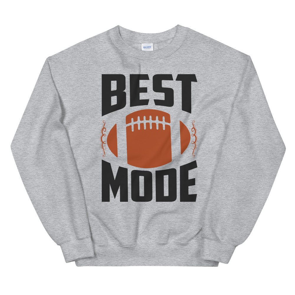 Beast Mode Football Crewneck Sweatshirt for Women