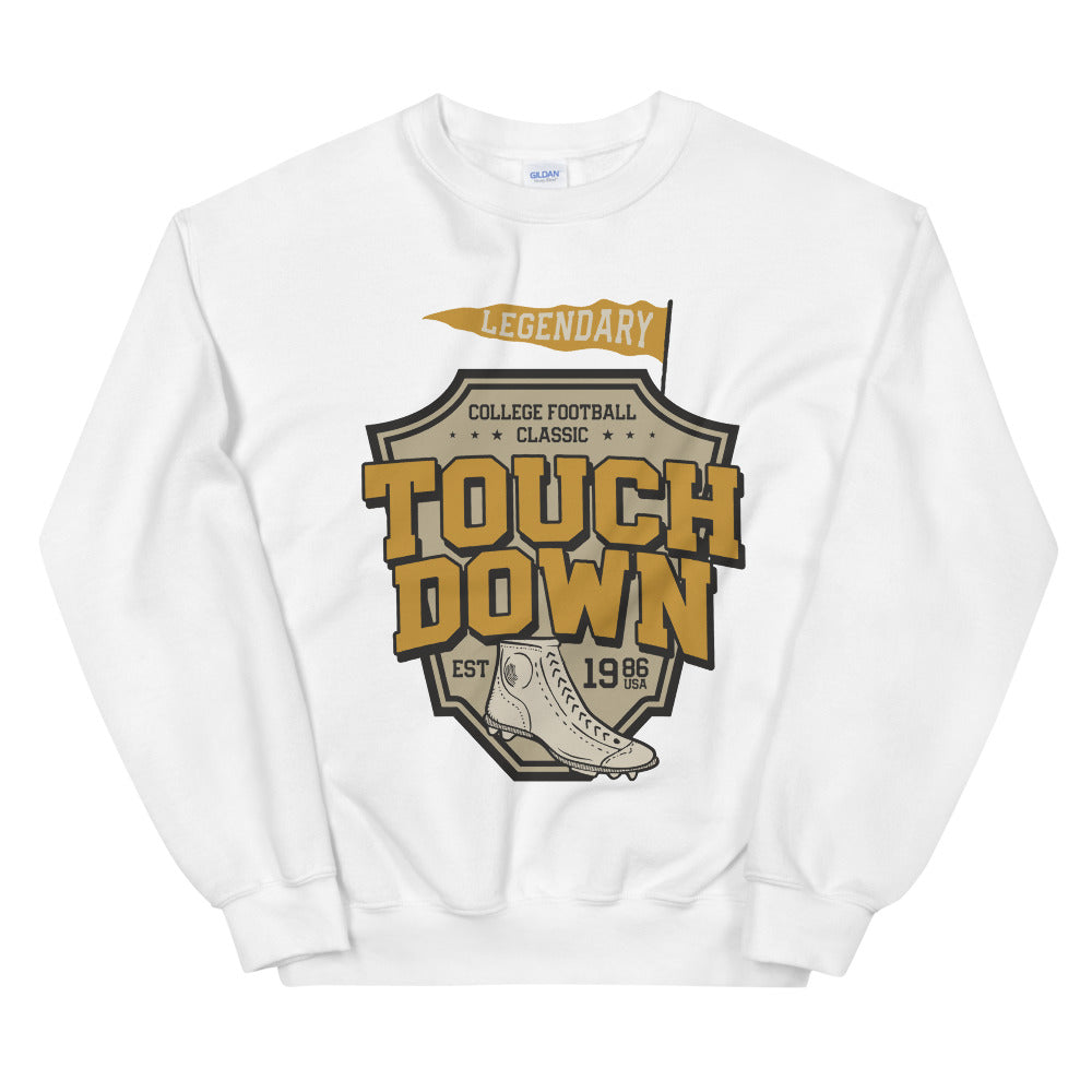 Vintage College Football Crewneck Sweatshirt