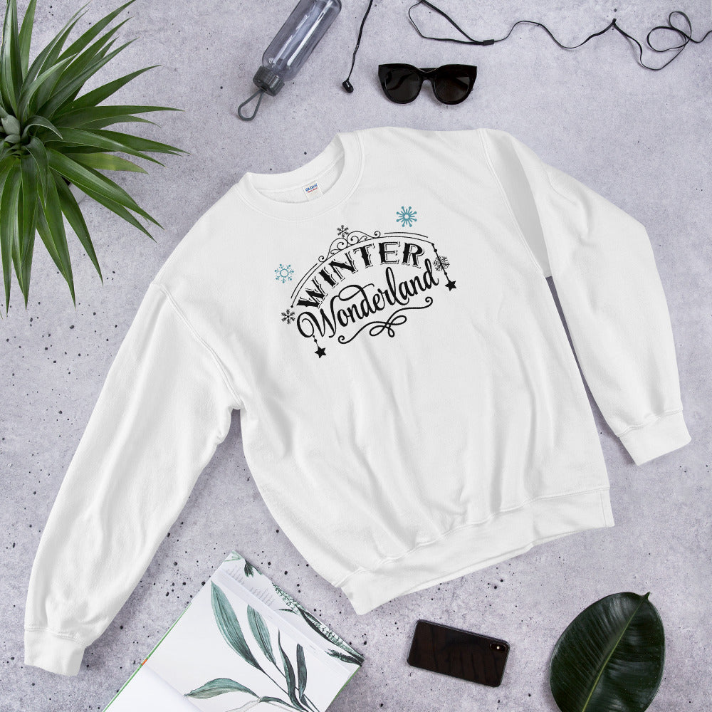 Winter Wonderland Crewneck Sweatshirt for Women