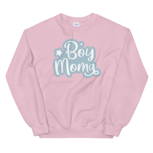 Boy Mom sweatshirt Sweatshirt in Pink Color for Women