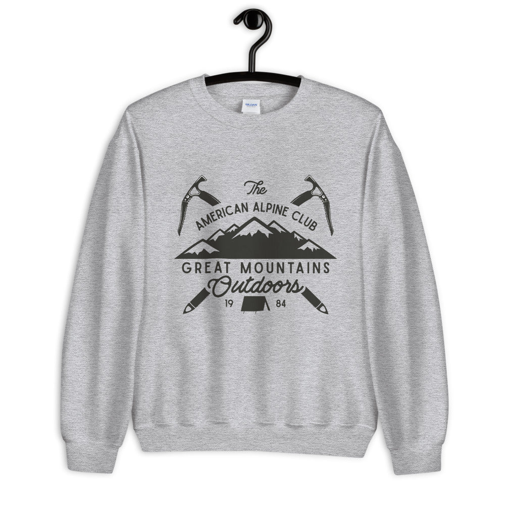 Great Mountains Outdoors Crewneck Sweatshirt for Women