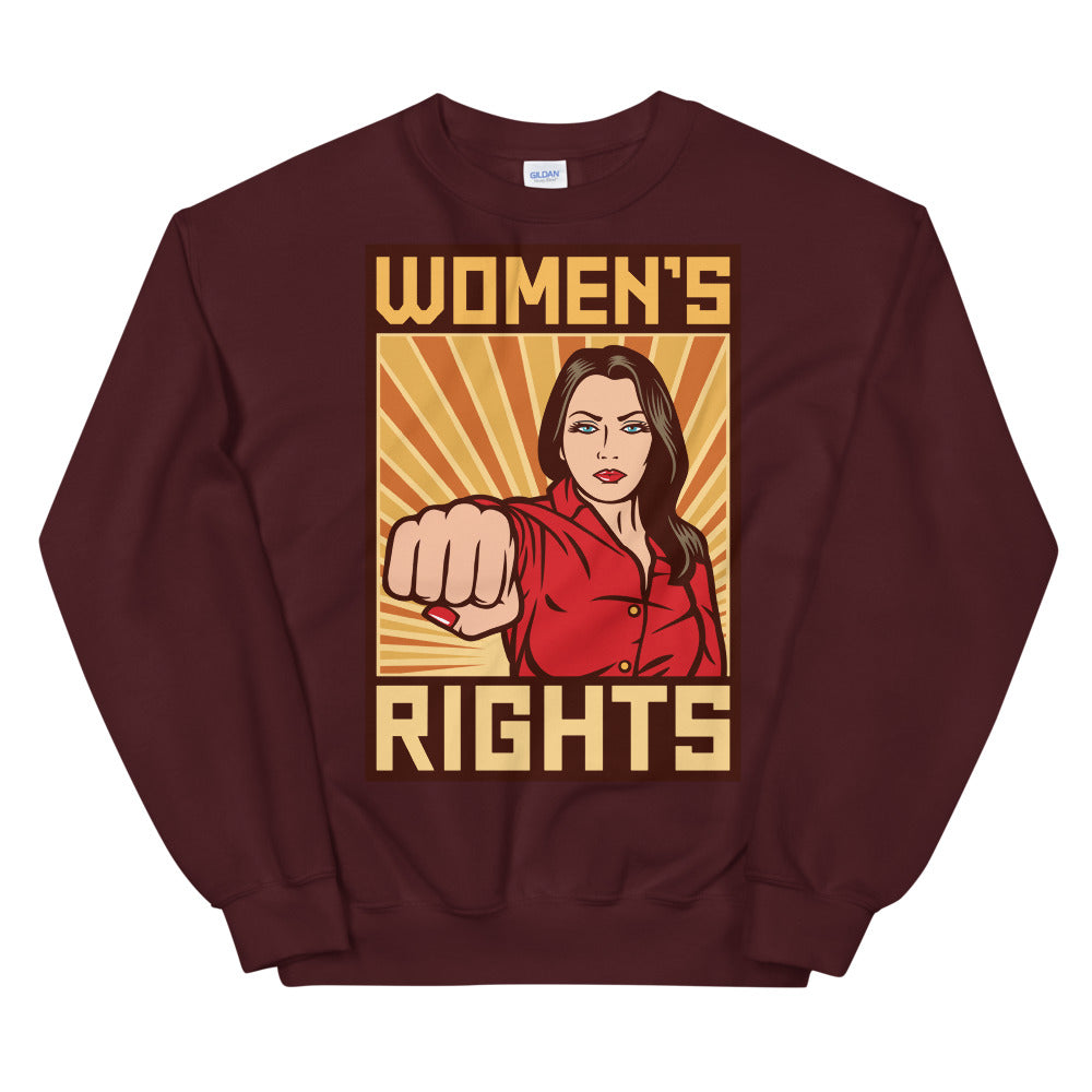 Women's Rights Crewneck Sweatshirt for Women
