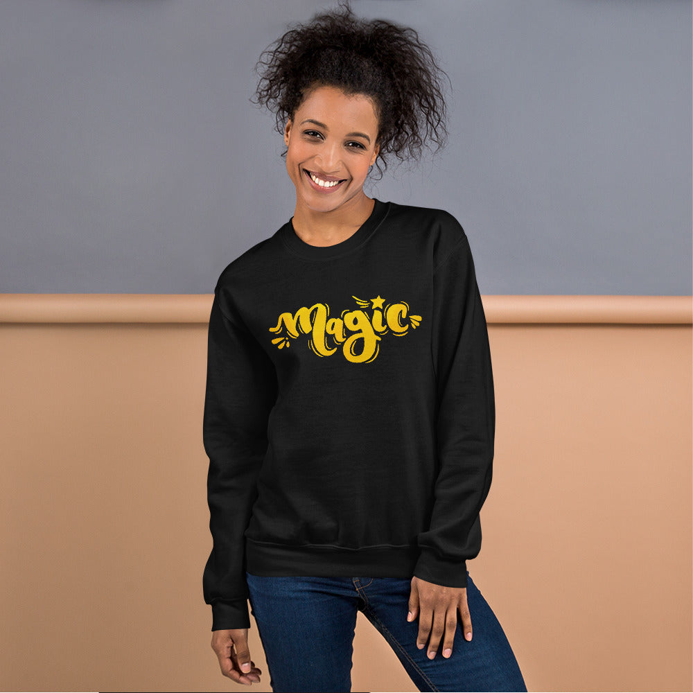 Magic Sweatshirt | One Word Magic Crewneck for Women