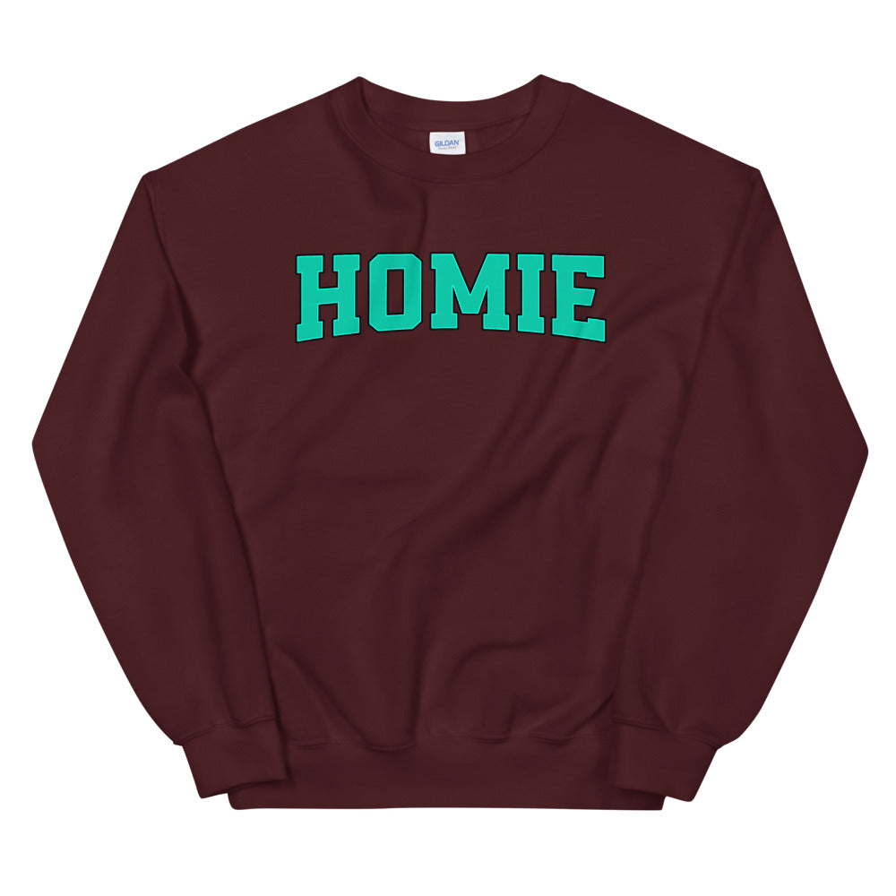 Homie Sweatshirt | Trusted Friend Slang Word Sweatshirt for Women
