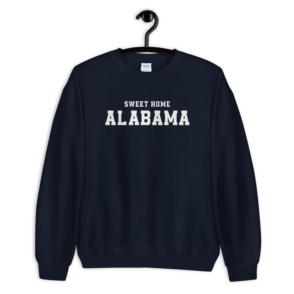 Sweet Home Alabama Sweatshirt | Navy Alabama State Sweatshirt for Women