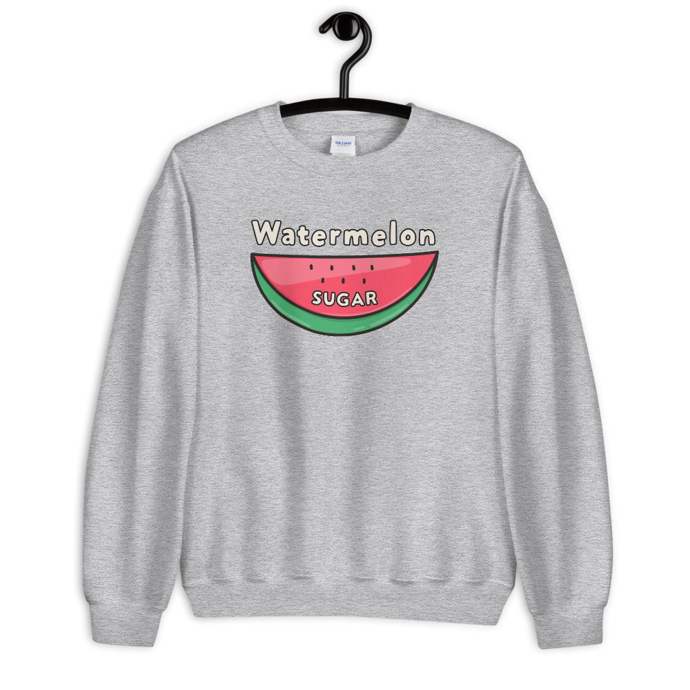 Watermelon Sugar Sweatshirt - Grey Watermelon Sugar Sweatshirt for Women $29.00