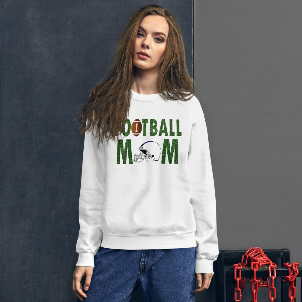 Football Mom Meme Crewneck Sweatshirt for Mother