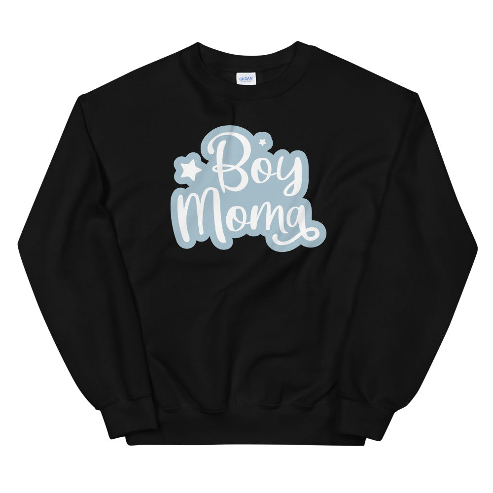 Boy Mom sweatshirt Sweatshirt in Black Color for Women