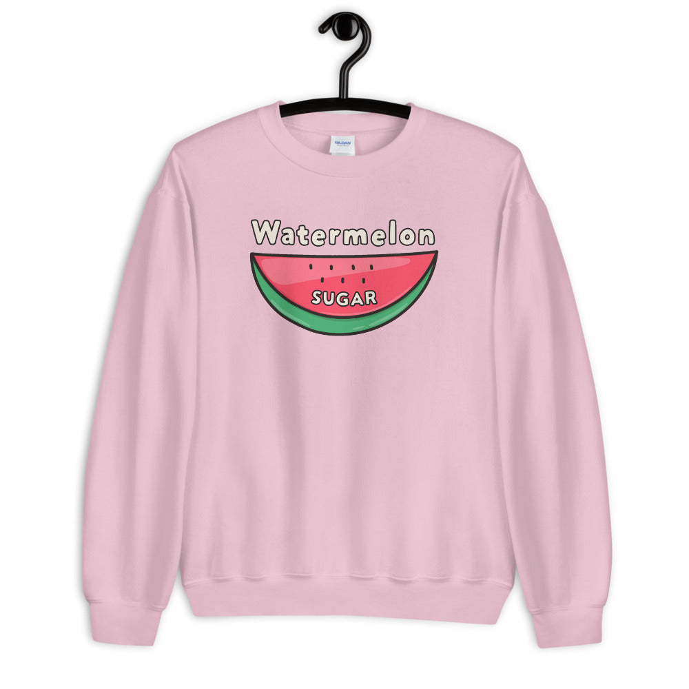 Watermelon Sugar Sweatshirt - Pink Watermelon Sugar Sweatshirt for Women $29.00
