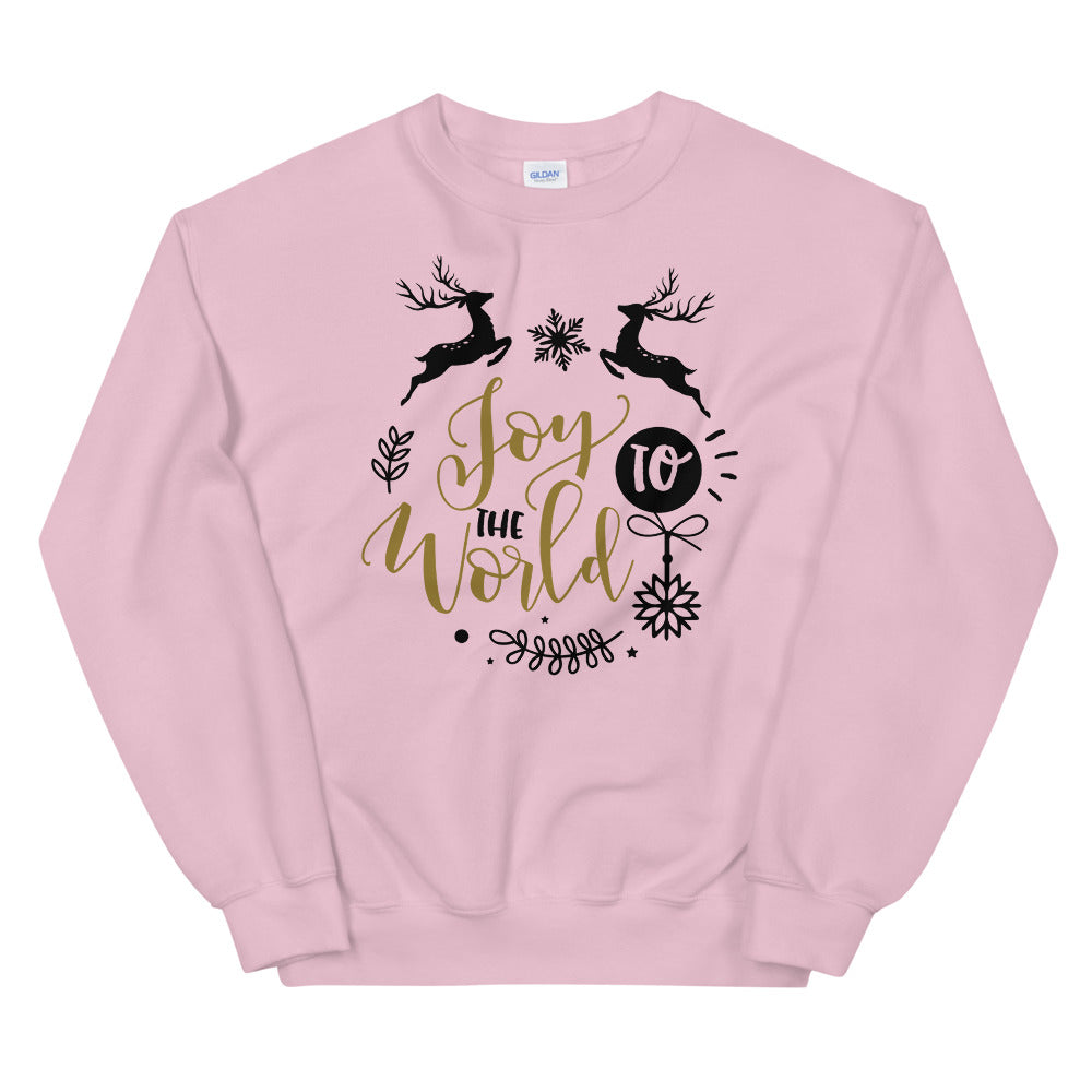 Joy To The World Crewneck Sweatshirt for Women