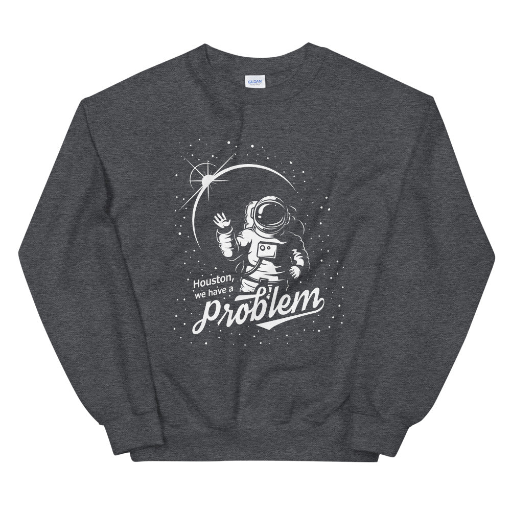 Houston We have a Problem Apollo 13 Space Crewneck Sweatshirt